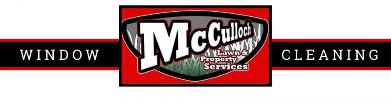 Window Cleaning services with McCulloch Lawn & Property